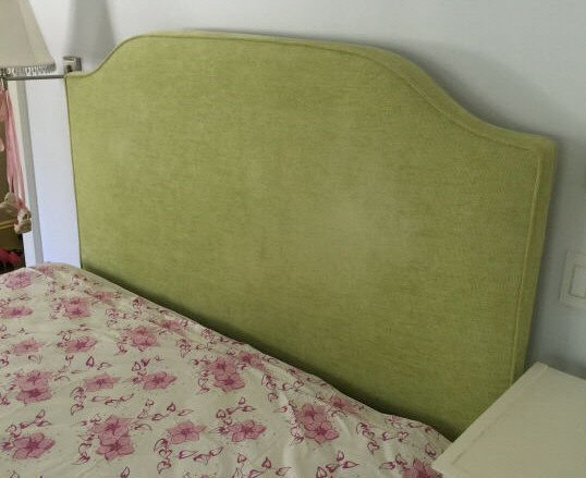 Custom Made Queen Size Upholstered Head Board
