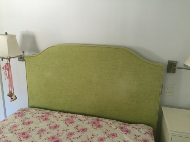 Custom Made Queen Size Upholstered Head Board - 2