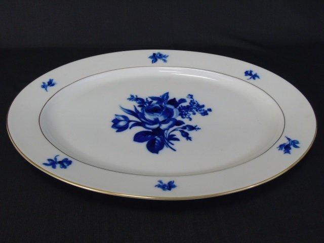 H & Co Selb Bavaria Echt Kobalt Porcelain Service - 3