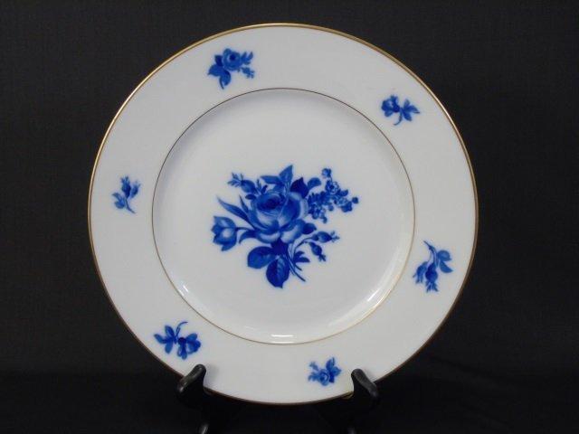 H & Co Selb Bavaria Echt Kobalt Porcelain Service - 5