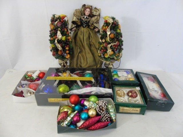 Large Lot Vintage & Contemporary Christmas Decor