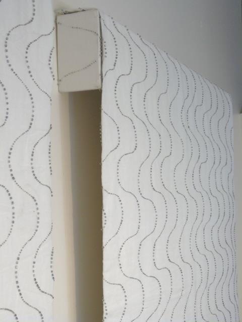 Custom Modern White & Silver Curtains from Kravet - 8