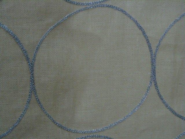Custom Modern Beige & Silver Curtains from Kravet - 4