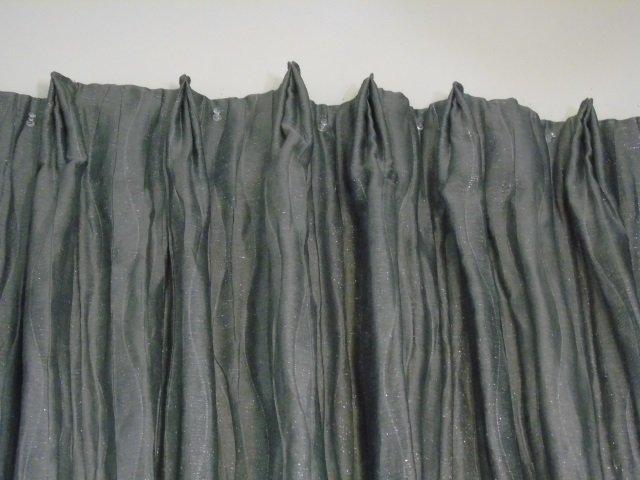4 Custom Modern Grey & Silver Curtains from Kravet - 5