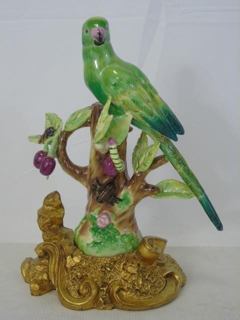 Three Chelsea House Italian Pottery Bird Statues - 2
