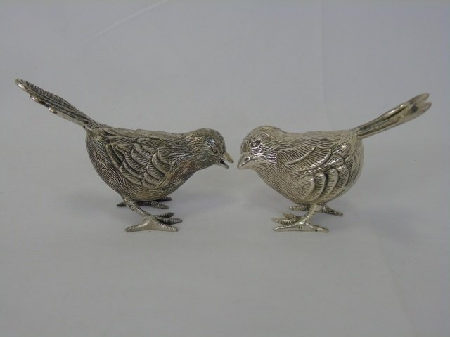 Collection of 10 Bird Statues in Porcelain & Metal - 5