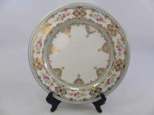 Set of 8 Antique Cauldon English Plates - 2