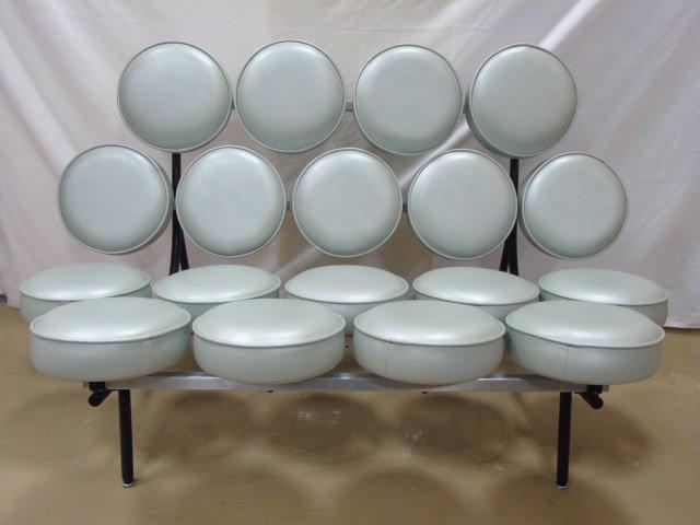 Mid Century Modern Herman Miller Marshmallow Sofa