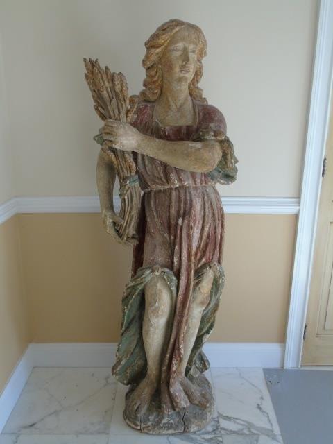18th Century Italian Statue Allegorical Statue