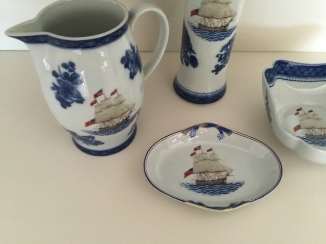 4 Mottahedeh Porcelain Chinese Export Style Items - 2