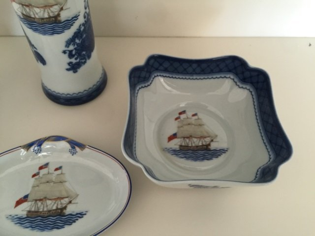4 Mottahedeh Porcelain Chinese Export Style Items - 3