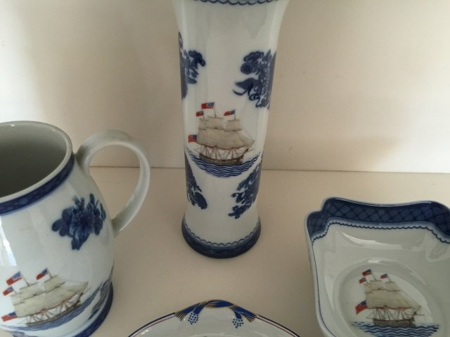 4 Mottahedeh Porcelain Chinese Export Style Items - 4