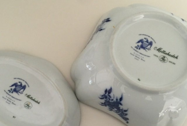 4 Mottahedeh Porcelain Chinese Export Style Items - 5