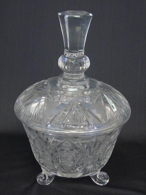 Antique Group Lot of Cut Glass & Crystal Pieces - 4