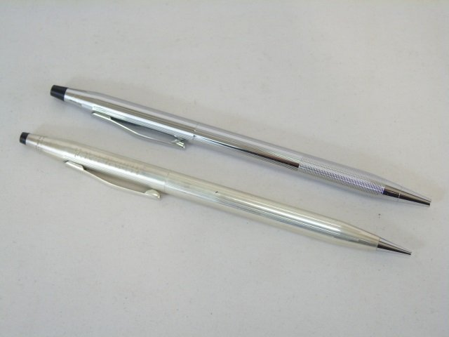 Set of Vintage Sterling Silver Cross Pens - 3