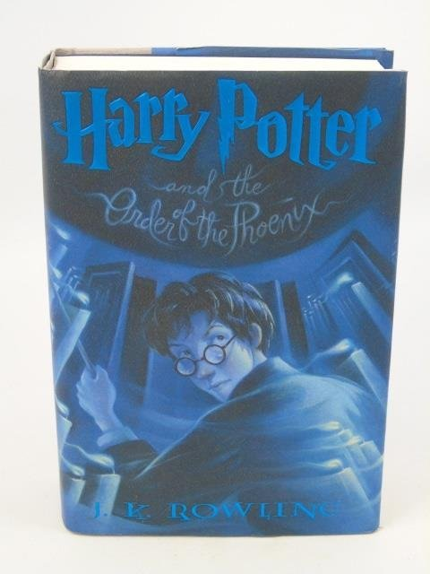 First Edition - Harry Potter Order of the Phoenix