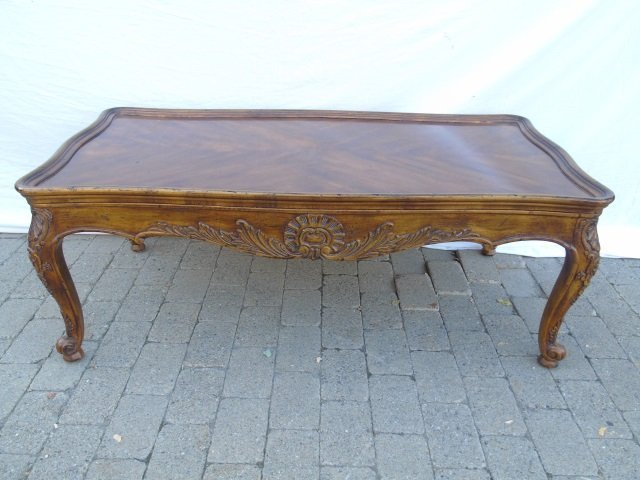 Henredon French Country Provencal Coffee Table - 4