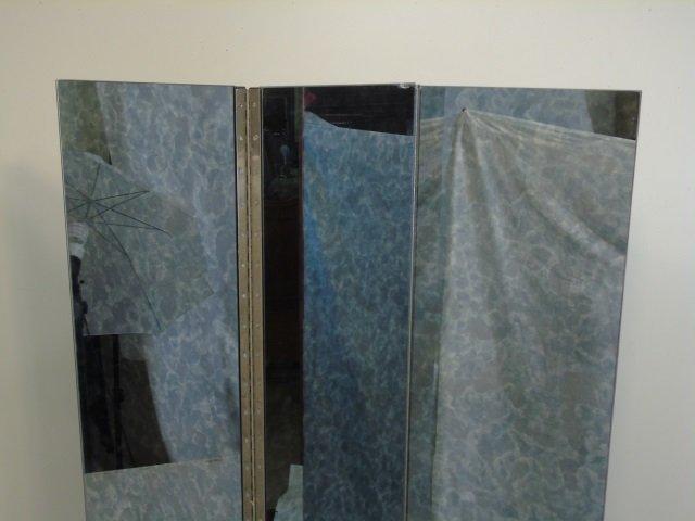 Vintage Hollywood Regency Mirrored Room Screen - 4