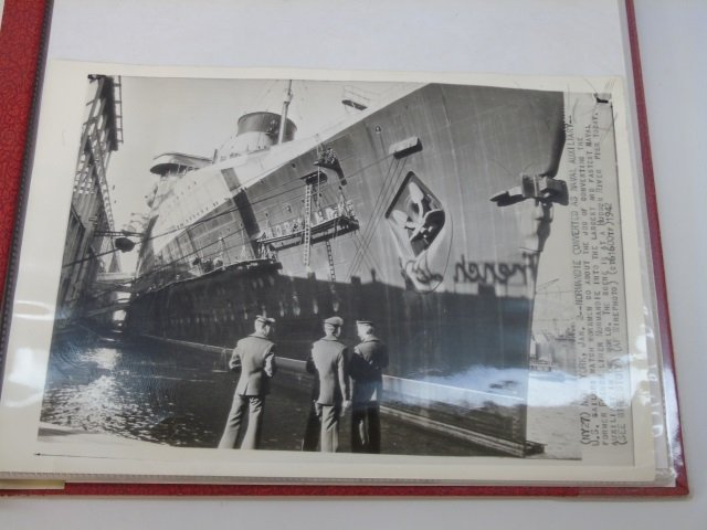 Group of SS Normandie Related Souvenir Items Photo - 2
