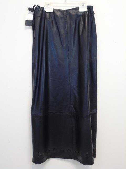 New With Tags Liz Claiborne Lambskin Long Skirt