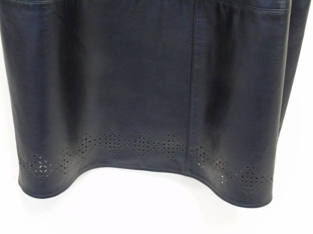 New With Tags Liz Claiborne Lambskin Long Skirt - 3