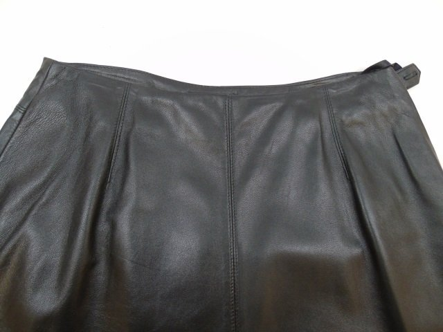 New With Tags Liz Claiborne Lambskin Long Skirt - 4