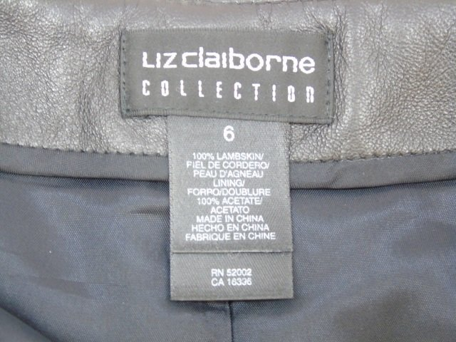 New With Tags Liz Claiborne Lambskin Long Skirt - 5