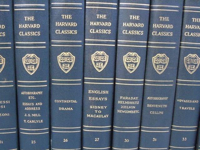 Antique Book Collection Harvard Classics 10 of 30 - 2