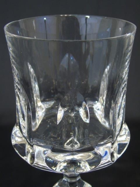 Group of 21 Cut Glass Wine Goblets Villaroy & Boch - 2