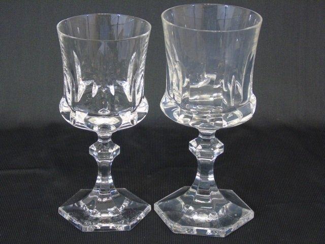 Group of 21 Cut Glass Wine Goblets Villaroy & Boch - 3