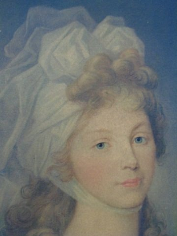 Antique Print of a Regency Era Lady of Style - 2