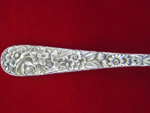 Group of Rare S Kirk & Son Repousse Sterling Items - 10