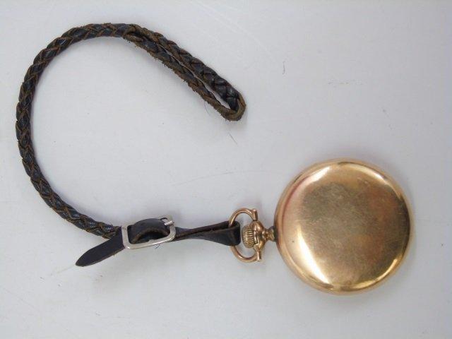 Vintage Hamilton Yellow Gold Men's Pocket Watch - 2
