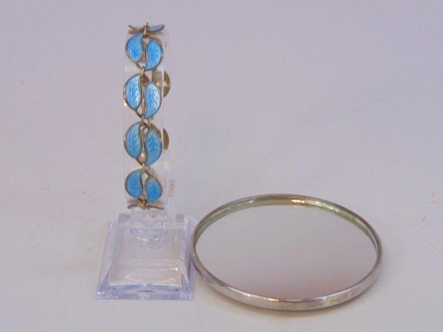 Tiffany & Co Hand Mirror - David Anderson Bracelet