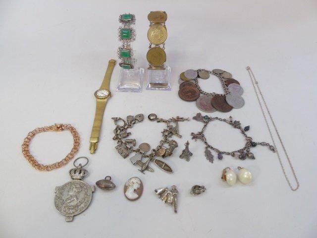 Charm Bracelets, Coin Bracelets & Costume