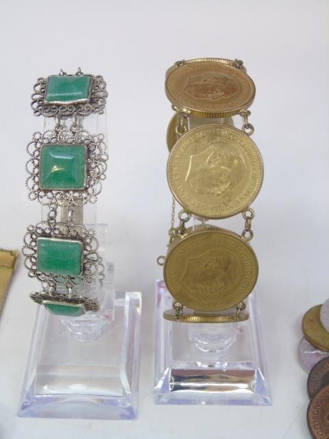 Charm Bracelets, Coin Bracelets & Costume - 3