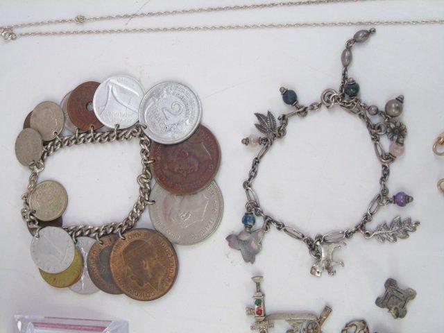 Charm Bracelets, Coin Bracelets & Costume - 4
