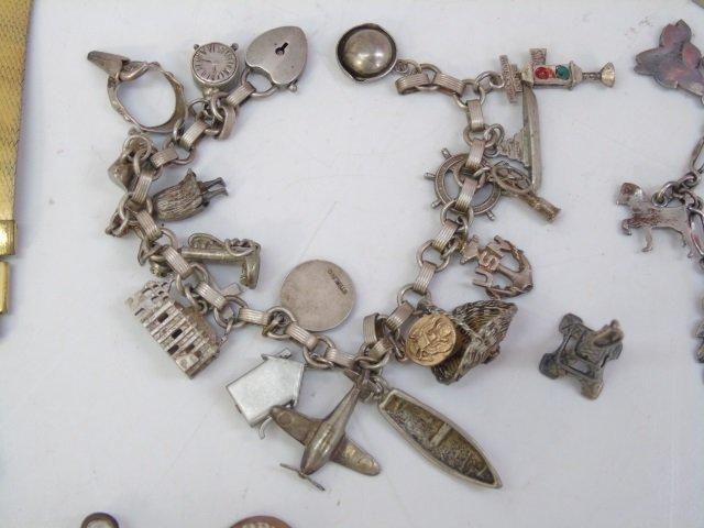 Charm Bracelets, Coin Bracelets & Costume - 5