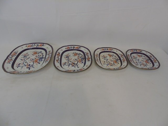 Antique Early Spode Imari Serving Pieces Mark 145 - 2