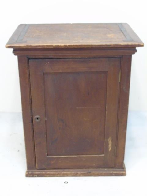 Antique 19th C American Small Cupboard Cabinet
