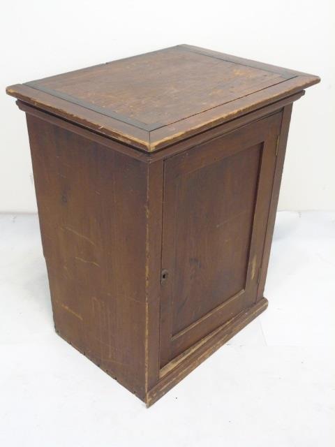 Antique 19th C American Small Cupboard Cabinet - 2