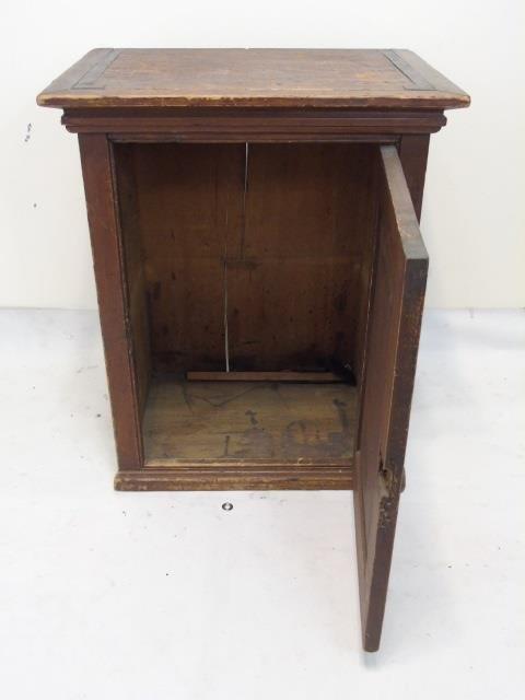 Antique 19th C American Small Cupboard Cabinet - 3