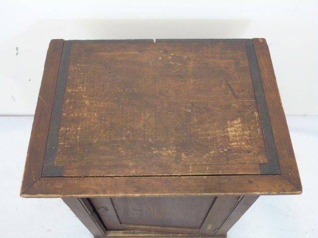 Antique 19th C American Small Cupboard Cabinet - 4