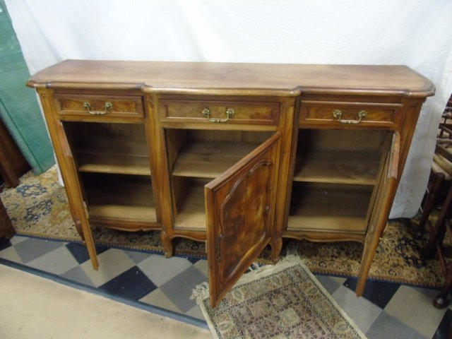 Large French Carved Maple Side Board Buffet - 2
