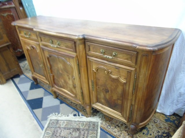 Large French Carved Maple Side Board Buffet - 3