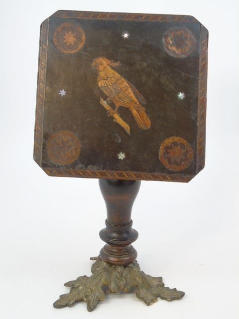 Antique 19th C Salesman Sample Tilt Top Table