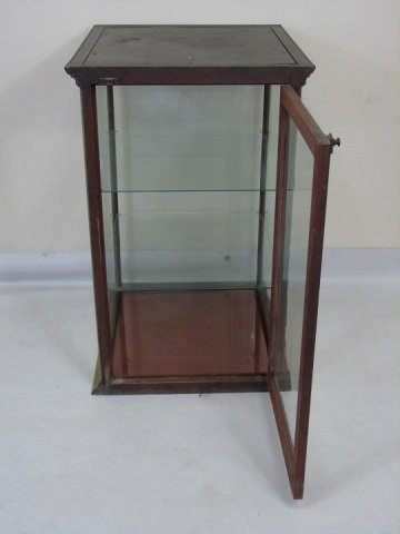 Antique American Glass Store Counter Display Case - 2