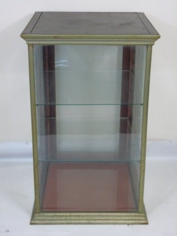 Antique American Glass Store Counter Display Case - 3