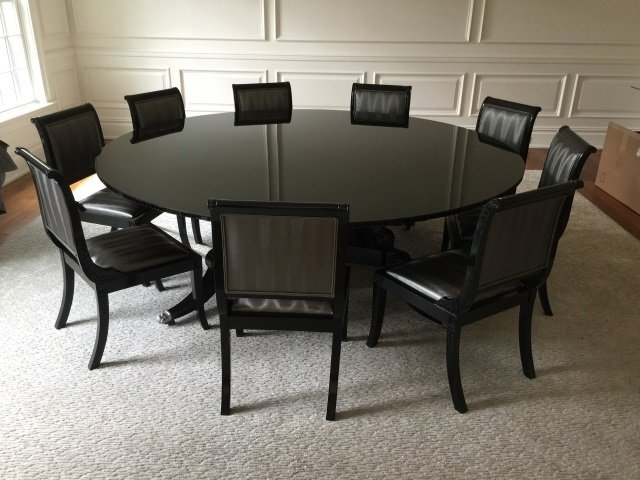 Set of Custom Contemporary Dining Room Chairs