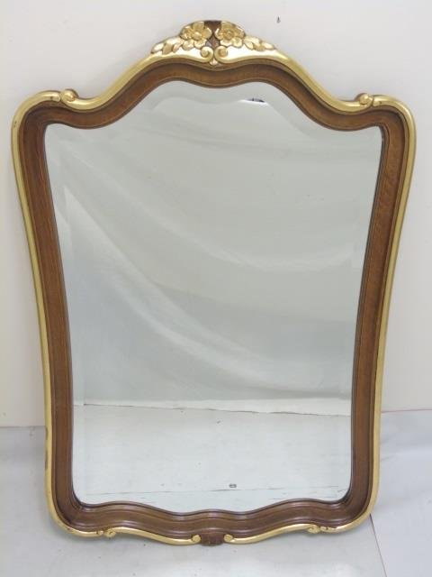 Italian Made Baroque Style Carved Mirror Frame